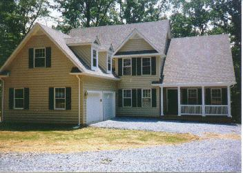 Design Build Home Construction In Howard County, MD   Front