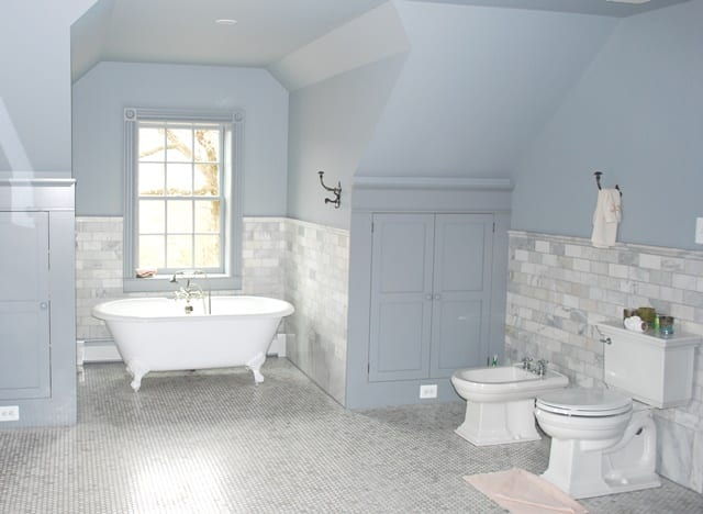 Historic home restoration renovation in maryland for Historic bathroom remodel