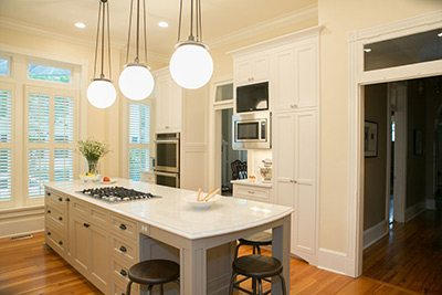 Farmhouse Kitchen with Transom Window in Frederick, MD