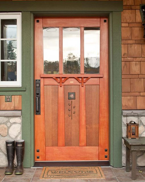Arts and Crafts Style Door (1860-1925)