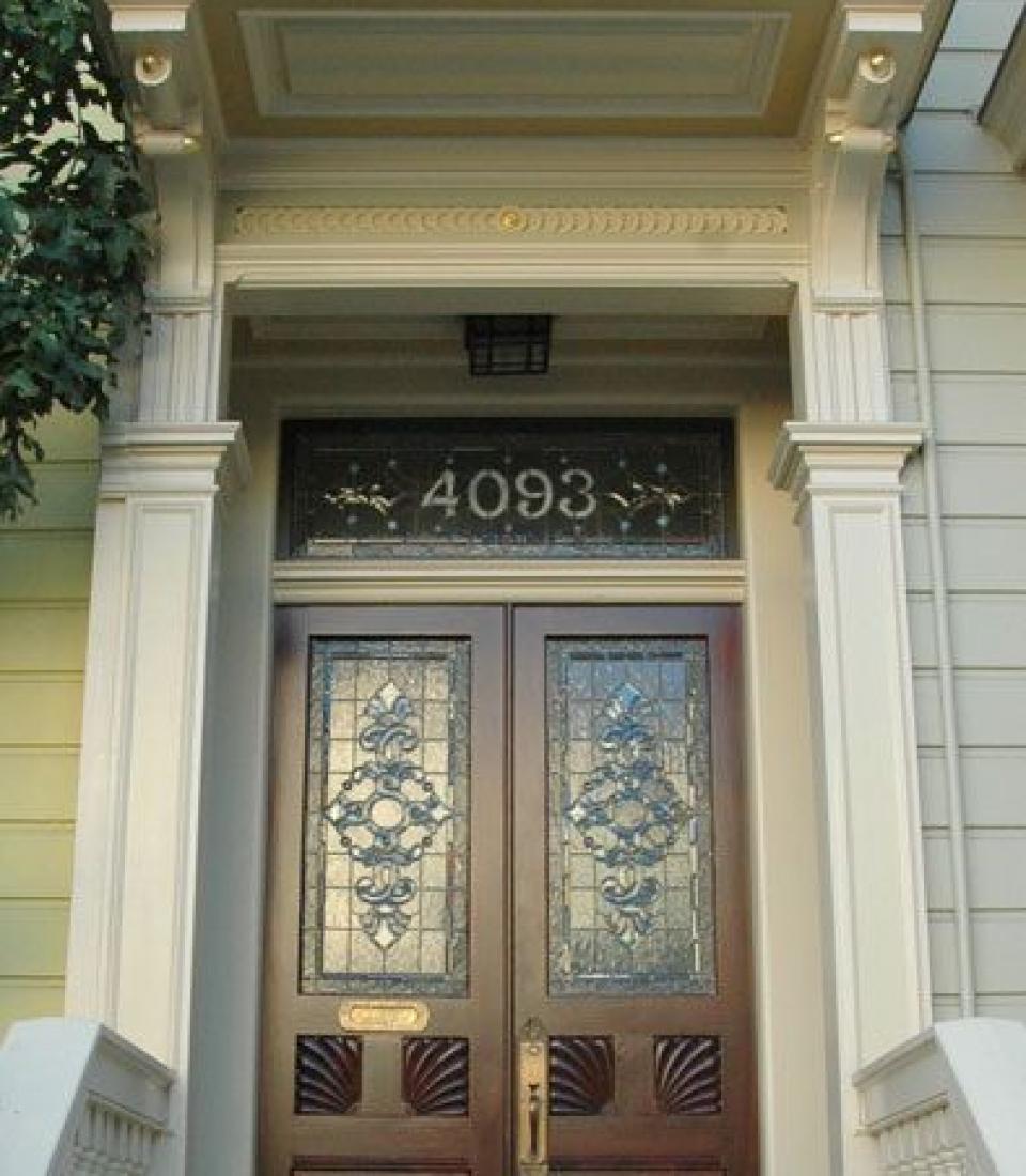 American Victorian Style Door (1840 1910)