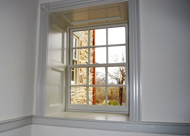 Window Addition in Stone Home in Frederick County, Maryland