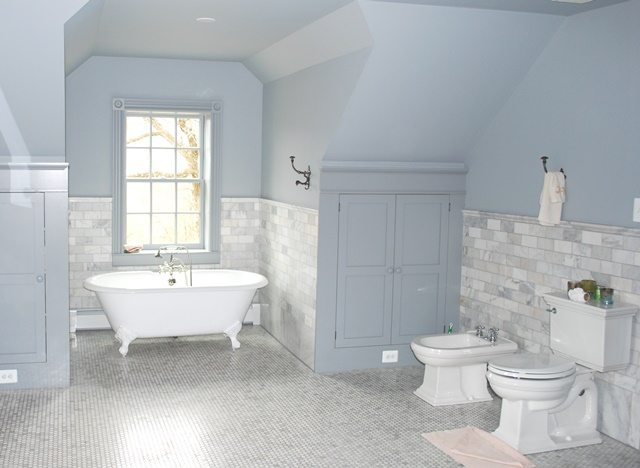 Master Bathroom in Stone Home Renovation in Frederick County, MD