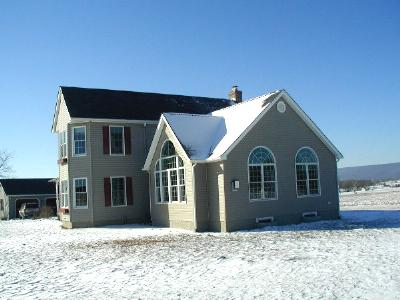 Exterior of Home Addition in Frederick County, Maryland
