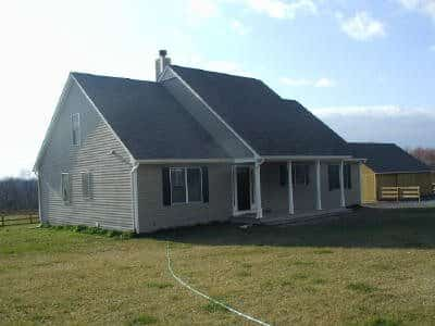 Design and Build Home Construction in Bealsville, Maryland - Front