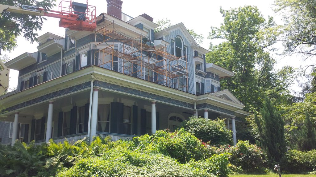 During Historic Renovation of Frederick County, MD Inn