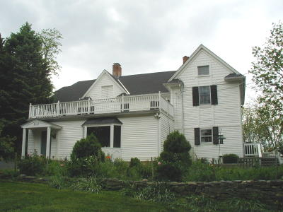 Before Historic Renovation in Gaithersburg, Maryland