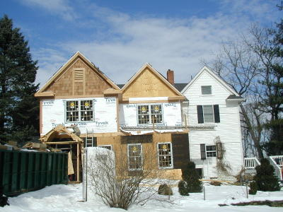 During Historic Renovation to Home in Gaithersburg, MD