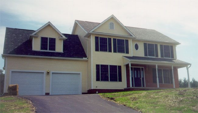 Design and Build Speculation Home in Williamsport, Maryland - Front