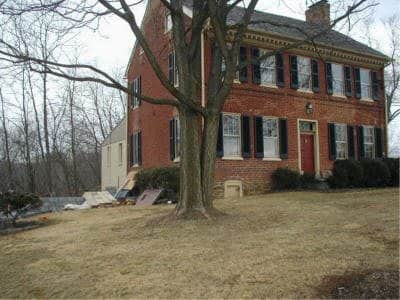 Before Historic Renovation in Union Bridge, Maryland